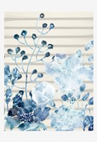 Wildflower Blues 1 Framed Print