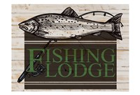 Fishing Lodge Fine Art Print