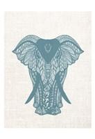 Elephant Mandala Fine Art Print