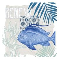 Under the Sea 4 Framed Print
