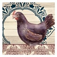 Poultry 3 Framed Print