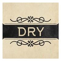 Wash Dry Fold 2 Framed Print