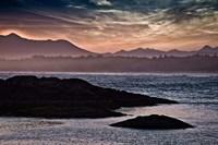 Sunset Glow at Wickaninnish Beach Fine Art Print