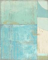 Coastal Blues No. 2 Framed Print