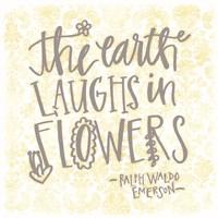 The Earth Laughs Fine Art Print