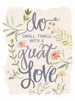 Great Love Flowers Fine Art Print
