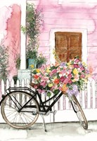 Spring Bike Ride Fine Art Print