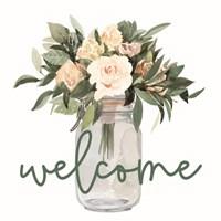 Welcome Flowers Fine Art Print