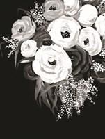 Black and White Floral Fine Art Print