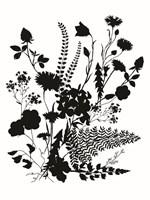 Inked Flowers Fine Art Print