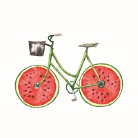 Watermelon Bike Fine Art Print