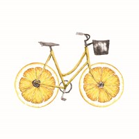 Lemon Bike Fine Art Print