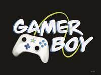Gamer Boy Fine Art Print