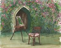 Garden Painting Fine Art Print
