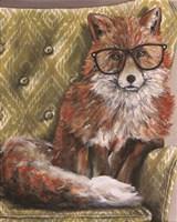 I'm so Foxie Fine Art Print