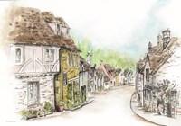 Village Fine Art Print