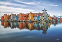 Reitdiephaven Reflections Framed Print