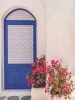 Santorini Door Fine Art Print