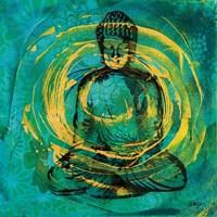 Centered Buddha Fine Art Print