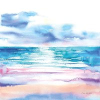 Turquoise Sea II Framed Print