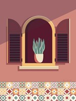Warm Window Lisboa Fine Art Print