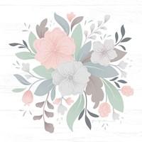 Farmhouse Floral III Framed Print