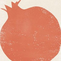 Graphic Fruit I Framed Print