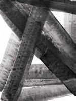 Under the Bridge II Dark Framed Print