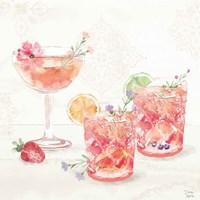 Classy Cocktails V Framed Print