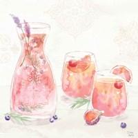 Classy Cocktails II Framed Print