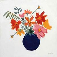 Simplicity Bouquet II Framed Print