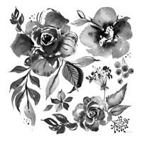 Delft Delight III Black No Words Fine Art Print