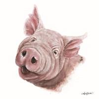 Penny the Pig Fine Art Print