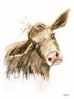 Miles the Cow Fine Art Print