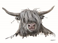 Lucy the Highland Cow Fine Art Print