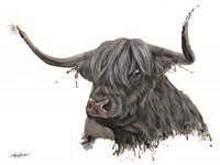 Ethel the Highland Cow Fine Art Print