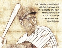 Joe DiMaggio Fine Art Print