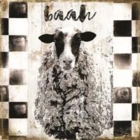 Farm Family Sheep Framed Print