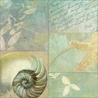 Beach Expressions I Framed Print