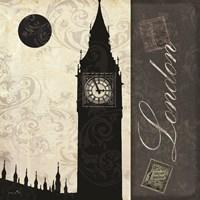 London Moon Fine Art Print