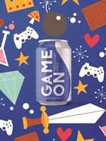 Game On Energy Drink Fine Art Print