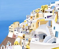 Greek Buildings II Fine Art Print