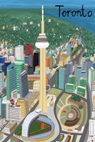 View from Above Toronto Fine Art Print