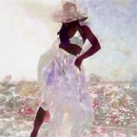 Her Colorful Dance I Framed Print