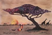 Plains of Africa Fine Art Print