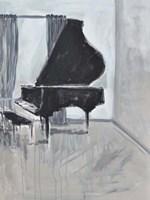 Piano Blues II Framed Print