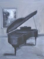 Piano Blues V Framed Print
