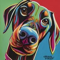 Chroma Dogs I Fine Art Print
