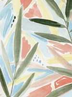 Tropical Impression II Framed Print