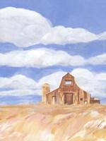 Wheatfield Barn I Fine Art Print